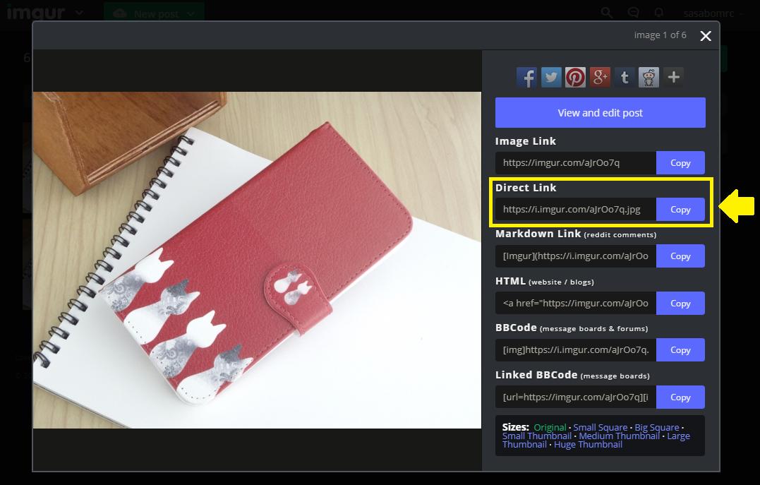 【Monappy】簡単な画像挿入のやり方【imgur使用】
