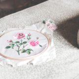 【色移り・色落ち・縮むのを防ぐ】刺繍作品の洗濯方法・乾かし方